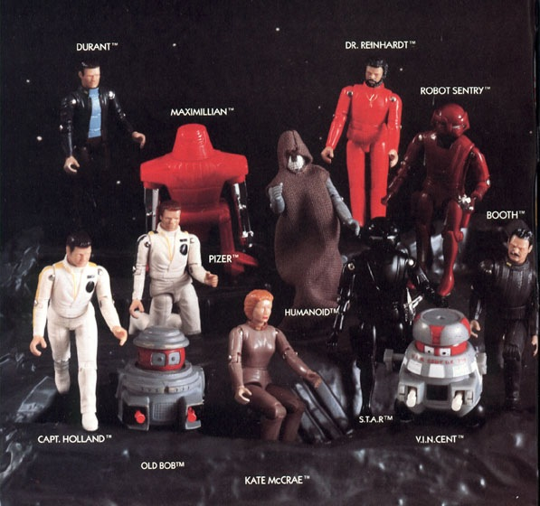 Disney's The Black Hole action figures