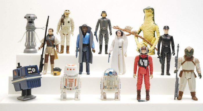 Ebay Images From Star Wars The Ultimate Action Figure Collection Lot 1,950 Loose Figs From Book