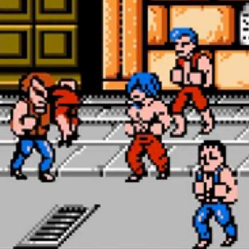 Double Dragon NES (1988, Technōs Japan)